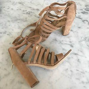 Sam Edelman lace-up heels